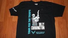 Exclusive Country Rock Music BILLY CURRINGTON Air Force Concert T-Shirt womens