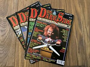 Set of The Dark Side Magazine. 1990-1991 - Issues 2, 3, 4, and 5