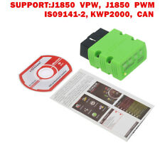 KW902 ODB II Diagnostic Code Scanner Read Phone Android ELM327 Bluetooth Torque