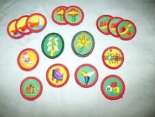 COMMUNICATION Handbook Badge NEW Girl Scout 1986 NAVY BORDER VOLUME DISCOUNT