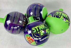 """4 STiNK BOMZ Join The Farty! 5"""" Mystery Plush with Unique Fart Noises & Smells"""