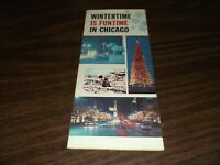 1960's WINTERTIME IS FUNTIME IN CHICAGO BROCHURE