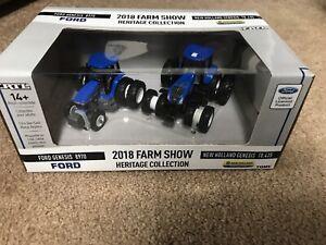 Ertl Ford Genesis 8970 New Holland Genesis T8.435 1:64 2018 Farm Show Set