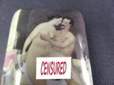 Peter Fendi Superb porcelain erotic pill box, trinket box or snuff box 914-12AB