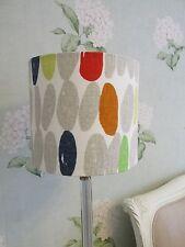 Handmade Drum Lampshade - Laura Ashley Wallace multi  fabric 20cm