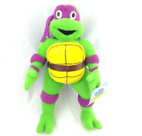 "TMNT Stuffed Donatello Plush Teenage Mutant Ninja Turtles 2001 Donny Mirage 13"""