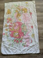 Vintage Strawberry Shortcake Pillow Case Two Sided Standard