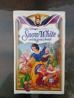 Snow White and the Seven Dwarfs VHS 1994 Masterpiece Collection #1524