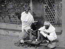 Échecs en algérie vintage history old bw photo print poster 411BWB