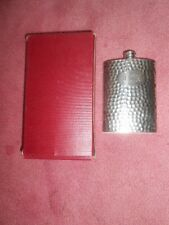 New listing Vtg Engraved Intials: Jck Fine Quality English Hammered Pewter Shefield England