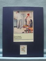 Norman Rockwell's Before The Shot & the Norman Rockwell stamp