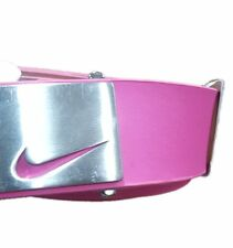 Nike Women's Pink Golf Belt Size Medium