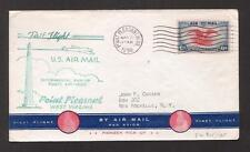 JAP R98 Cover canceled addressed USA Chicago Air Mail 1934