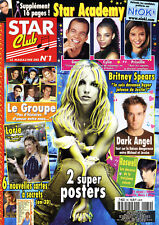 Magazine STAR-CLUB n°169, Britney SPEARS, LORIE, ROSWELL, CHARMED, PRISCILLA