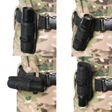Nylon Gürteltasche Halter Holster Beutel Schutz Mit Clip für LED Taschenlampe