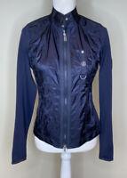 Bogner Women's Zip Up Lightweight Jacket Size S Blue C4