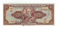 20 Cruzeiros Brasilien 1950 C083 / P.144 - Brazil Banknote