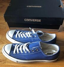 NEW Converse Chuck Taylor CT 70 OX Low True Navy Blue 142339C Size 9 Canvas