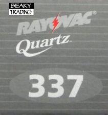 Genuine Rayovac 337 SR416SW Watch Battery [1-Pack]