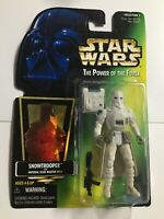 Kenner Star Wars Power Of The Force Snowtrooper Action Figure Collection 1996