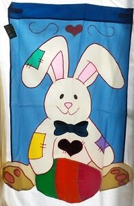 Country Bunny Standard House Flag by NCE #60323