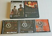Lot of Four (4) HALF LIFE PC games - All discs in good condition - View pictures