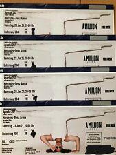 Apache 207 Ticket Konzert Sitzplatz Unterrang Berlin 2021