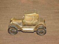 "VINTAGE 5 1/4"" LONG CATSKILL SAVINGS BANK 1915 CAR METAL BANK"