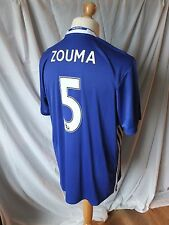 Chelsea 2016/17 Home Shirt  Zouma 5  Adults XL
