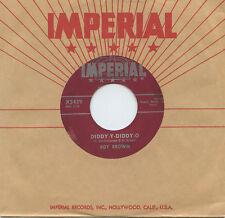 Hear - Rare R&B 45 - Roy Brown - Diddy-Y-Diddy-O - Imperial Records # 5439