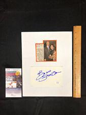 "STEDMAN GRAHAM OPRAH WINFREY'S SPOUSE HAND SIGNED 3X5"" CARD W/PHOTO W/JSA/COA"
