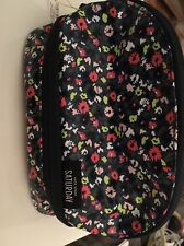 Kate Spade Saturday Dome Cosmetic Case In Wildflower NWT