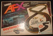 Vintage 1979 Aurora AFX Daytona 500 HO Slot Car Track Set In Original Box No Car