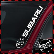 Subaru Car/Van Windscreen Decal Sticker Rally 4WD Off-road - 17 Colours 550mm