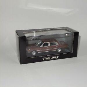 Minichamps 1974 Mercedes Benz 460SEL Brown Metallic