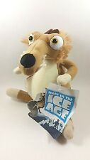 """7"""" ICE AGE CONTINENTAL DRIFT SCRAT PLUSH NEW WITH TAGS TOY FACTORY 2016 RARE"""
