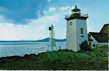 Islesboro Light, Islesboro Island Maine, Lighthouse, Ferry Terminal Postcard PC