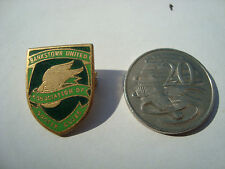 """Bankstown United District Soccer Football Club Crested Metal Club""""Badge"""" Pin-Tag"""