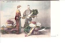 Japan Japanese Vegetable Seller @ 1906