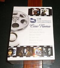 DVD *CINE ROMA* Box/Cofanetto (Nuovo) con Fellini/Hepburn/Moretti/Rossellini/etc