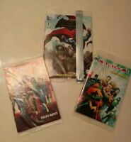 DC General Mills Premium MINI-COMICS LOT OF 3 SUPERMAN BATMAN JUSTICE LEAGUE NM