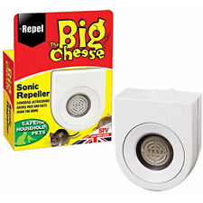 Big Cheese Sonic Mouse Rat Vermin Mice Repeller Deterrent Repellent Deter Rodent