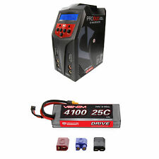 Venom 25C 2S 4100mAh 7.4V LiPo Hardcase Battery and Pro Duo Charger Combo