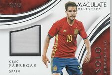 PANINI IMMACULATE SOCCER 2017- CESC FABREGAS - SOLO MATERIALS CARD- # 38 of 49