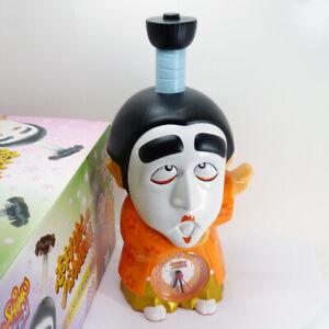Rhythm Ken Shimura Stupid Talking Alarm Clock Table Clock Figure Rhythm with Box