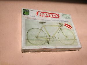White Legnano Vintage era Bicycle Headband with brake around
