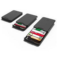 The Ingenious Wallet avec carte de blocage RFID Le MINIMALISTE & INGENIEUX