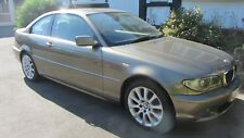 BMW  320CD ( 320D ) 2 DOOR COUPE AUTO ,INDIVIDUAL ,COLLECTORS ! ,2005 E46 GOLD.