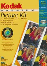 Kodak Premium Picture Kit , Ultra Glossy Photo Paper 15 Sheets, 33059
