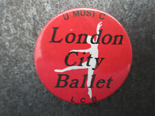 London City Ballet Pin Badge Button (L9B)